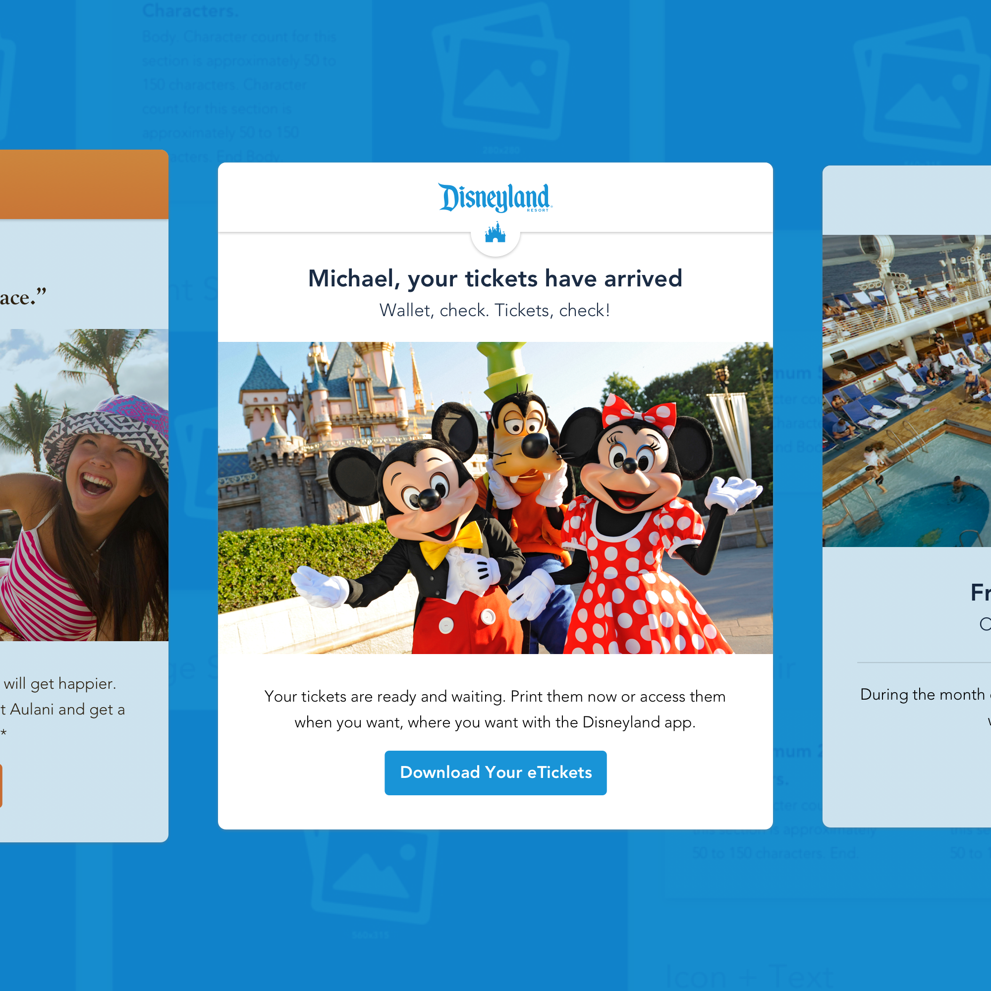 Disney Parks & Resorts Emails